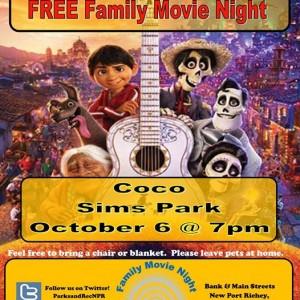 October Free Family Movie Night