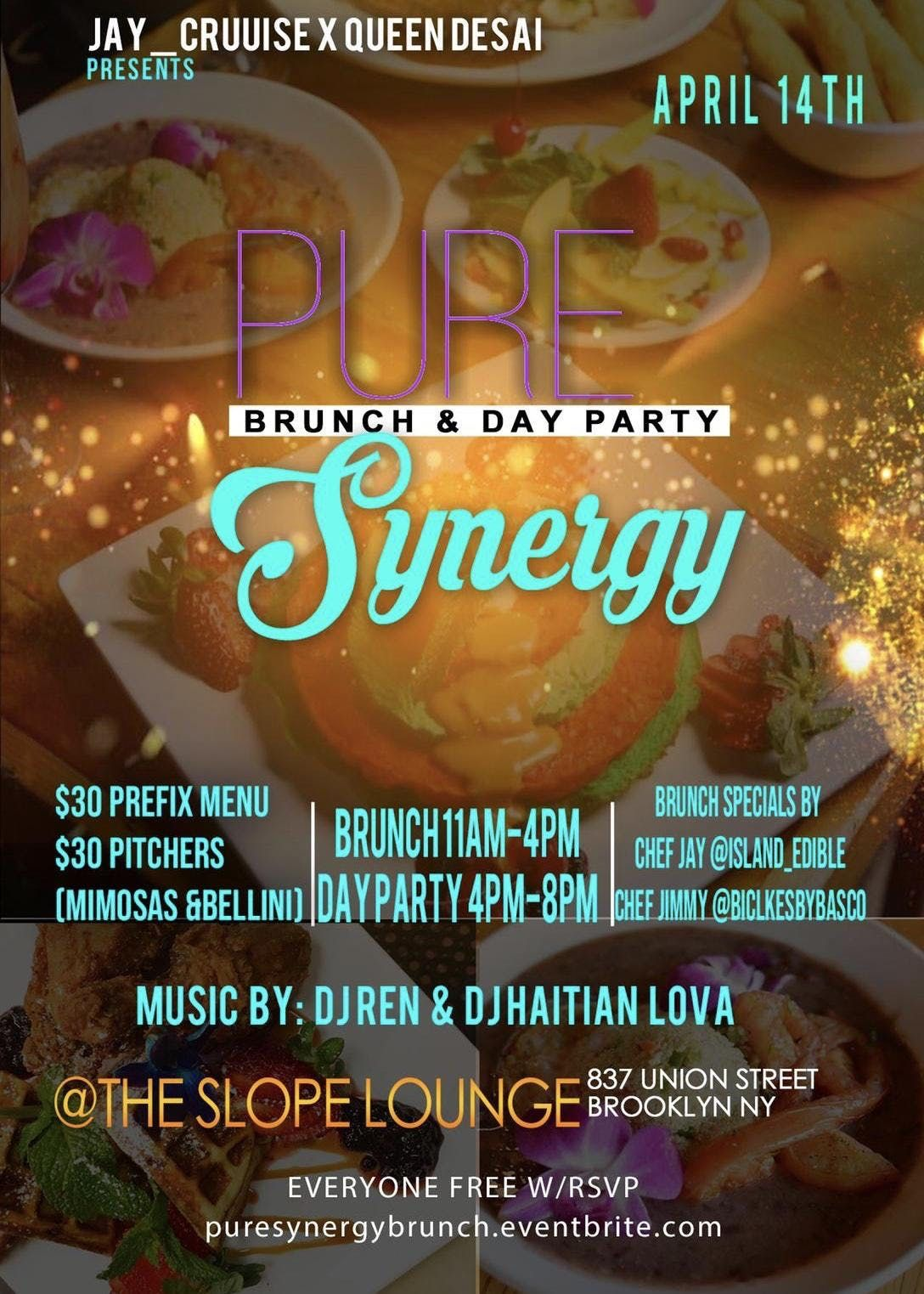 Pure synergy brunch
