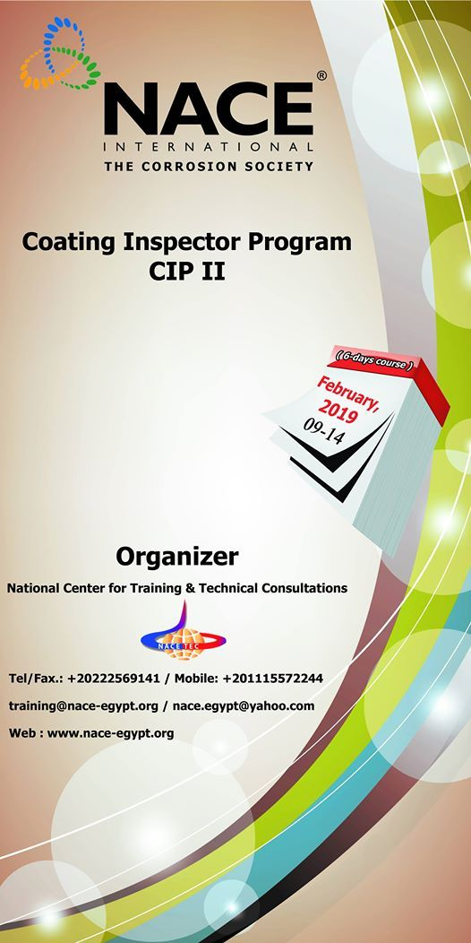 NACE Coating Inspector Program CIP level 2 Course