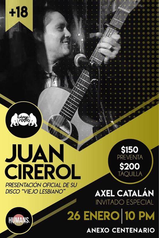 Juan Cirerol en cd Juarez Anexo Centenario