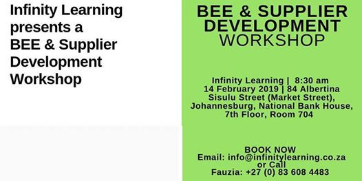 BEE and Supplier Development at National Bank House84