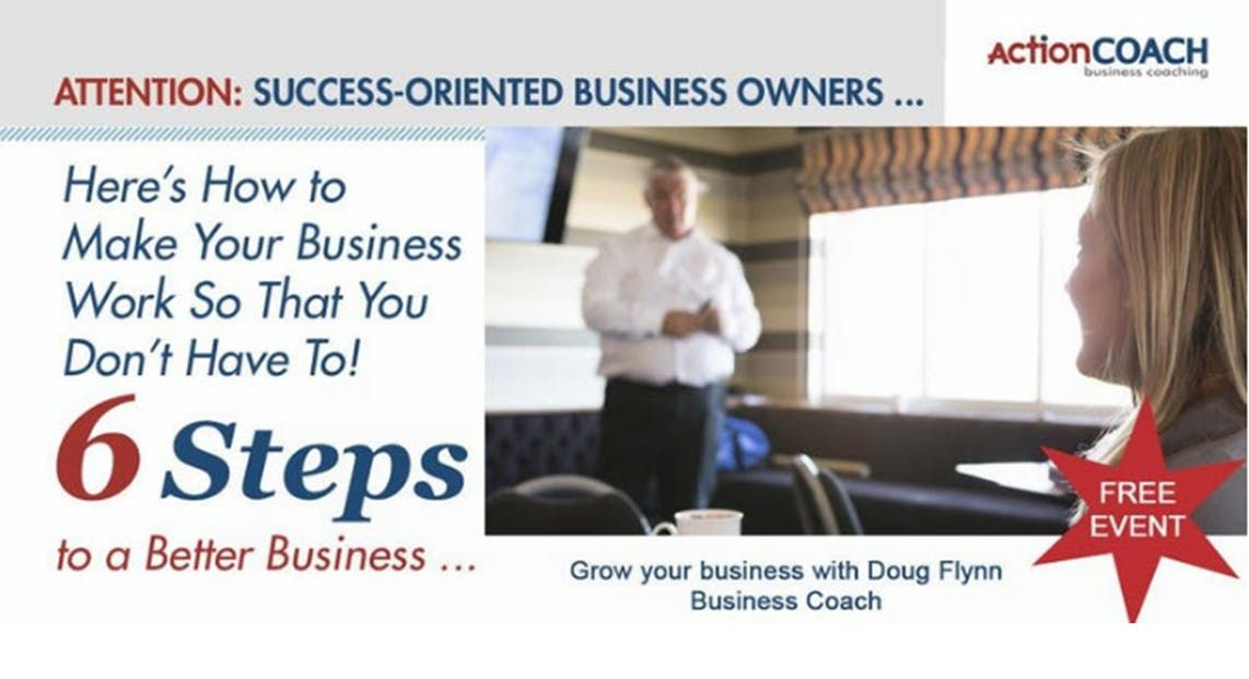 6 Steps to Success - with Action Coach