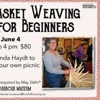 Beginner Basket Weaving