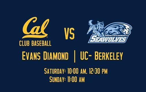 Cal Club Baseball vs. Sonoma State Club Baseball