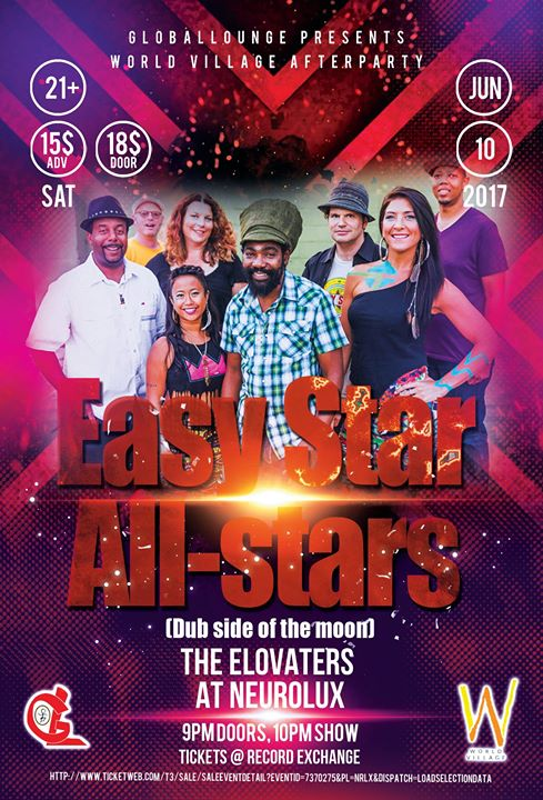 GL presents EASY STAR ALL STARS with The Elovaters