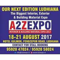 A2Z Expo 2017 (Interior exterior &amp Building Materials)