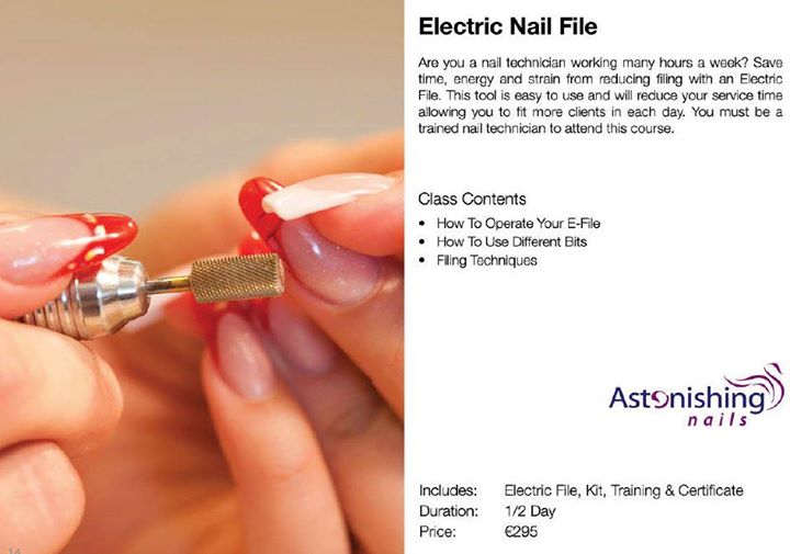 Electric File at Asu Nail & Beauty Supplies / Training Academy, Fingal