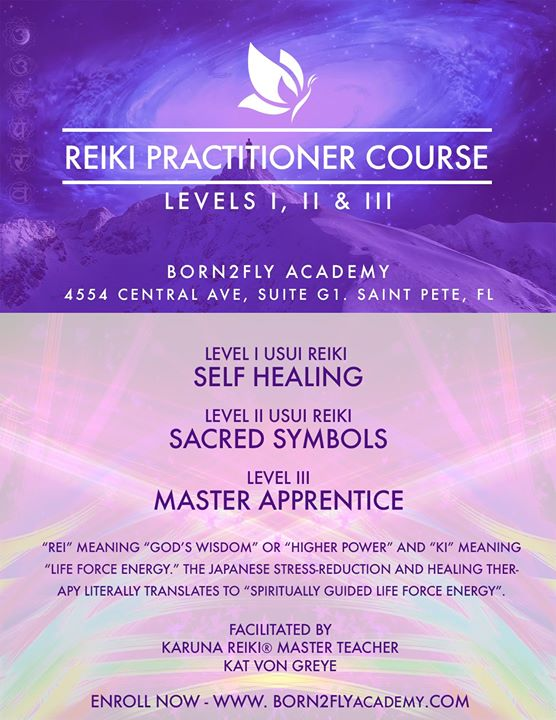 Usui Reiki Master Training Course At Born2fly Academy Saint Petersburg