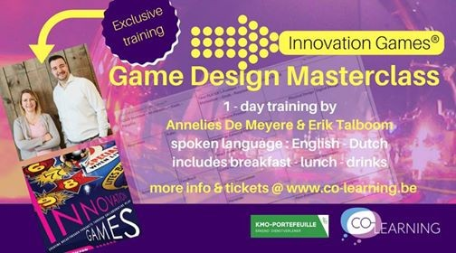Innovation Games Game Design Masterclass