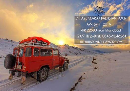 7 Days Skardu Baltistan Tour (HHPKKDU19)