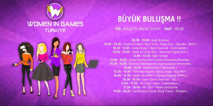 Women in Games Turkiye Byk Buluma