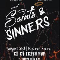 Alpha Iota Omicron &amp Delta Phi Omega Present Saints &amp Sinners