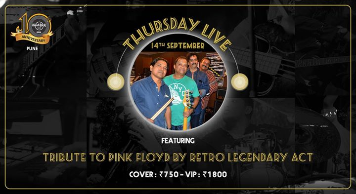 Tribute to Pink Floyd by Retro Legendary Act at HRC Pune