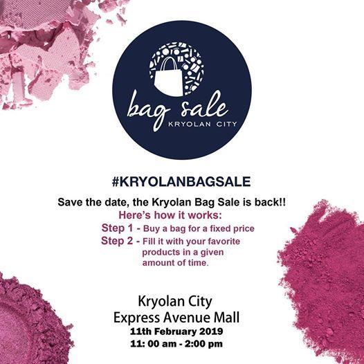 Kryolan City Bag Sale