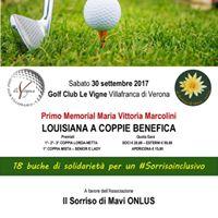 1 Memorial Maria Vittoria Marcolini - Lousiana a coppie benefica