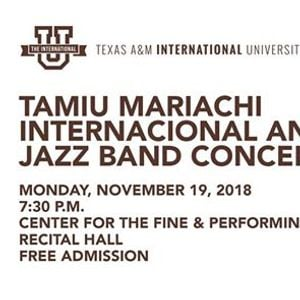 TAMIU Mariachi Internacional and Jazz Band Concert