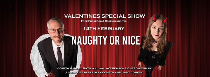 Valentines Naughty or Nice Comedy & Magic Show - Sold Out