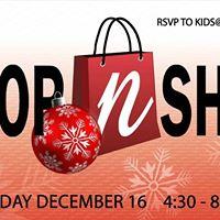 Christmas Drop &amp Shop