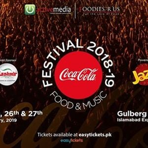 Coke Food and Music Festival 2018-19 Islamabad