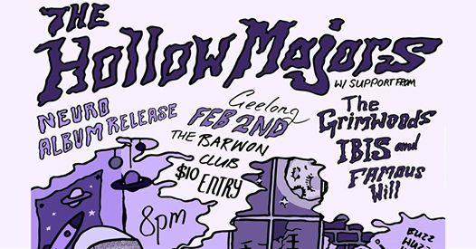 The Hollow Majors album launch  Geelong