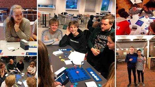 Bezzerwizzer-turnering p Rybners Tekniske Skole