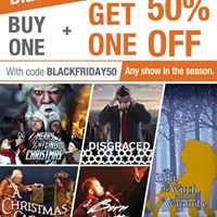 Alliance Theatre Black Friday Sale- BOGO 50% One Day Only