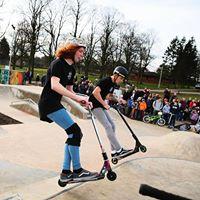 Scooter And BMX Sesh Spenny Skate Park