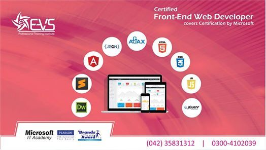 Certified Front-End Web Developer with free Wordpress