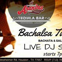 Bachalsa Tuesdays - Happy Hour at Arandas Westheimer w DJ SAOKO