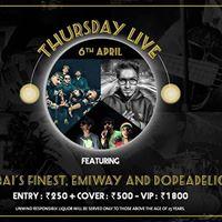 Mumbais Finest Emiway and Dopeadelicz - Thursday Live
