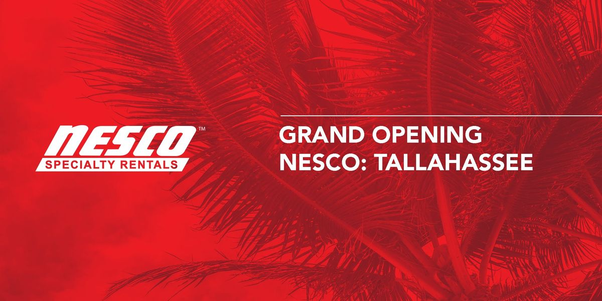 NESCO Specialty Rentals Tallahassee Grand Opening