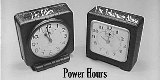Power Hours Ethics and Substance Abuse - Live CLE