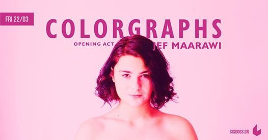 Colorgraphs live w opening act Jef Maarawi at six dogs