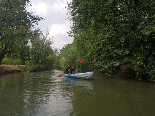 Saturday August 18 Visiting and Kayaking