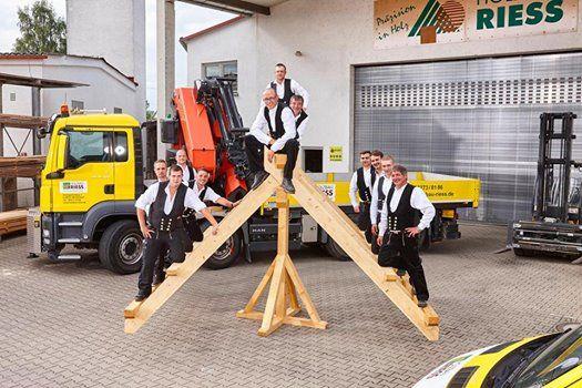 Messestand Holzbau Riess