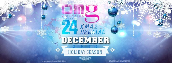 2016 OMG Christmas BASH at OMG - Mauritius, Grand Baie