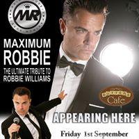 Robbie Williams Tribute 10 ticket