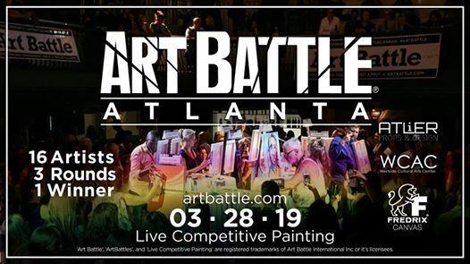 Art Battle Atlanta - March 28 2019
