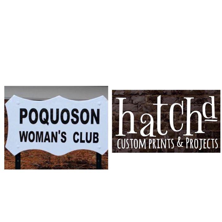 Hatchd With Poquoson Womans Club