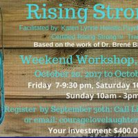 Rising Strong Workshop in Welland On
