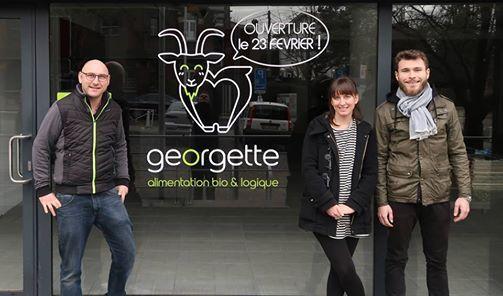 Inauguration chez Georgette votre nouveau magasin bio de Cointe