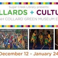 Collards  Culture Latibah Collard Green Museum Exhibit