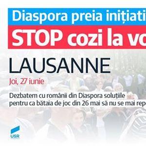 Diaspora preia iniiativa STOP cozi la vot