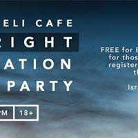 Ricks Israeli Cafe Birthright Registration Launch Party