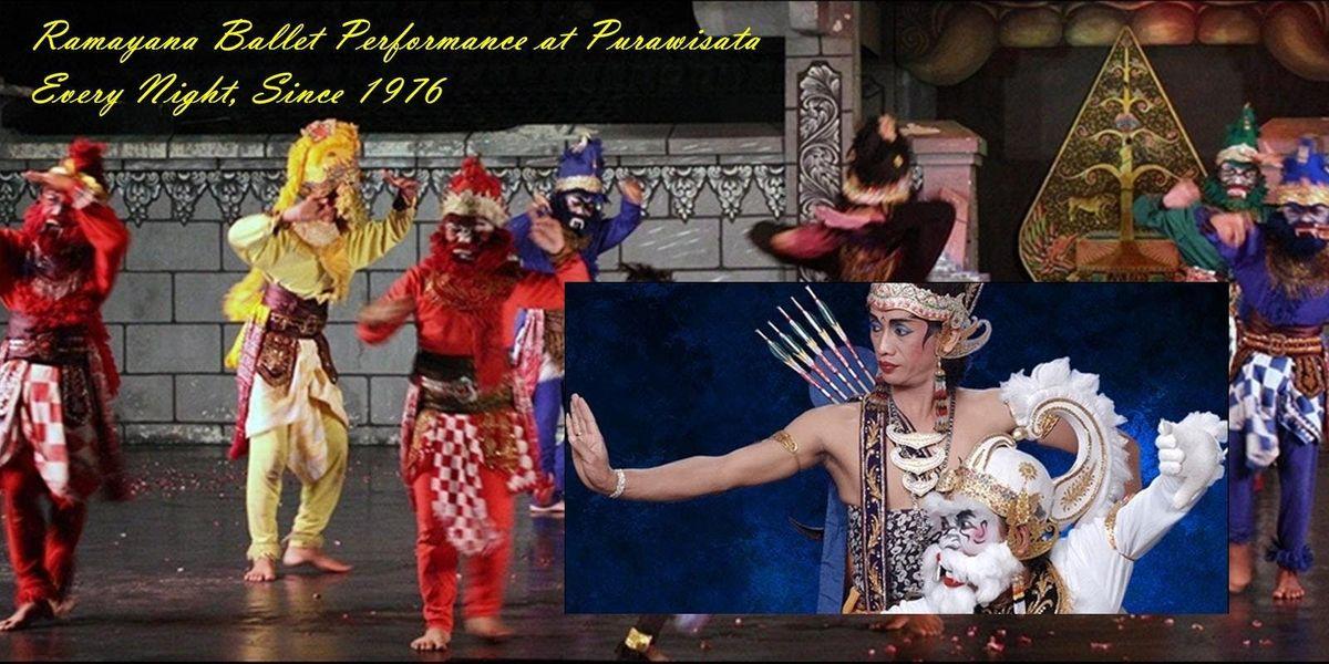Ramayana Ballet Performance at Purawisata Every Night Since 1976