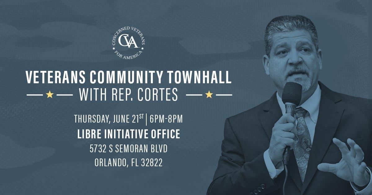 Veterans Community Townhall with FL Rep. Bob Cortes