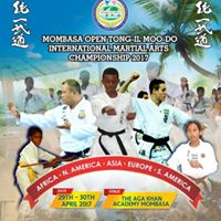 MOMBASA OPEN TONG-IL MOO-DO INTERNATIONAL MARTIAL ARTS CHAMPIONSHIP 2017
