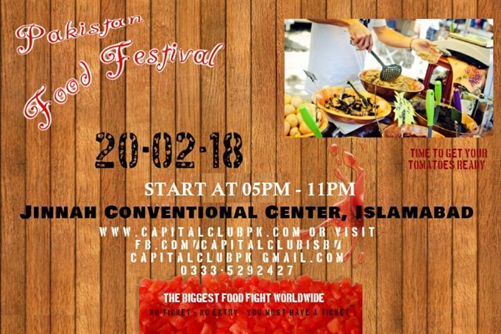 Pakistan Food festival 2018