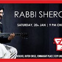 Rabbi Shergill performing live