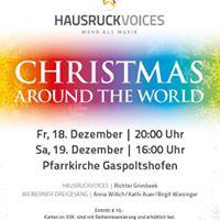 Christmas Around the World - HAUSRUCKVOICES Weihnachtskonzert